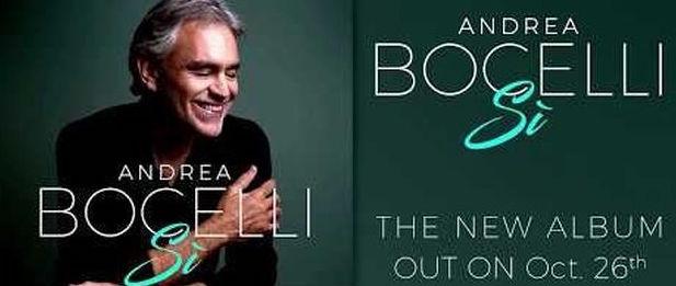 Bocelli conquista l'America: il suo album primo in classifica negli Usa (video)