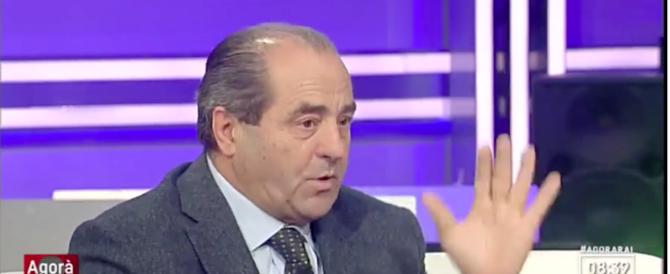«Non ti abbatto la casa se…»: Di Pietro in tv smaschera la vergogna (video)