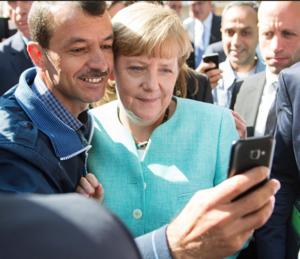 Sono passati i tempi del selfie col profugo