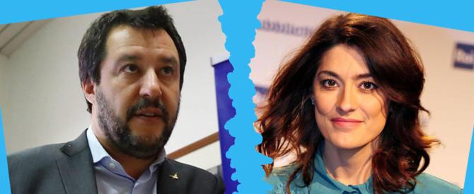 Salvini sulla Isoardi: «Sono un po' abbacchiato, ma poi mi passa»