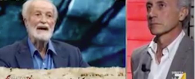 Scalfari delira: «Putin vuole Salvini dittatore d'Italia». E anche Travaglio ride (video)