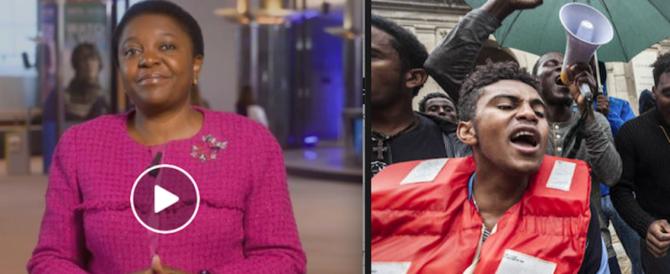 """Kyenge fonda il partito degli africani d'Italia: """"Dobbiamo farci valere"""" (video)"""