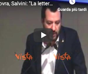 «Aspettiamo la letterina di Babbo Natale…». Lo sfottò di Salvini irrita la Ue (video)