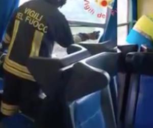 Treno diretto a Catanzaro investito da una tromba d'aria: ci sono feriti (video)