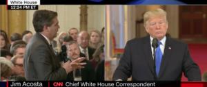 Scontro col cronista alla Casa Bianca, la Cnn fa causa a Trump (video)