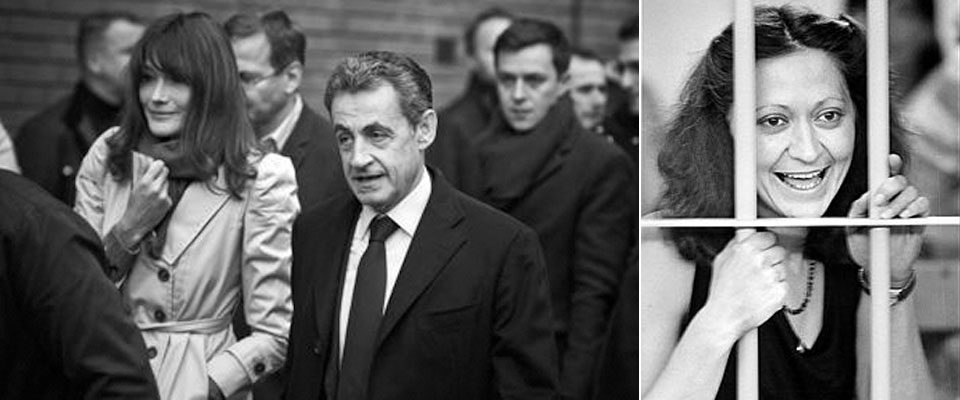 Carla Bruni, Sarkozy e la terrorista rossa Marina Petrella