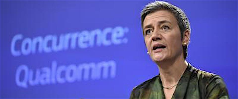 la commissaria europea alla Concorrenza Margrethe Vestager