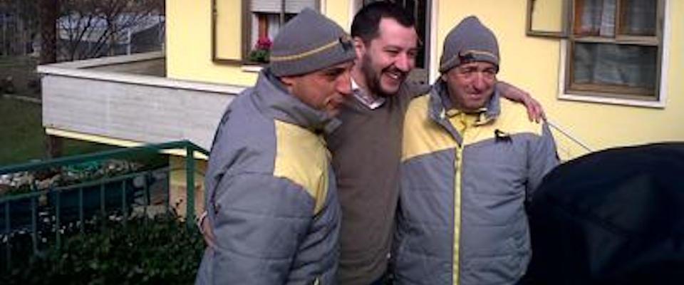 Il benzinaio Graziano Stacchio