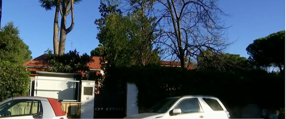 L'ambasciata della Corea del Nord, in viale dell'Esperanto, a Roma