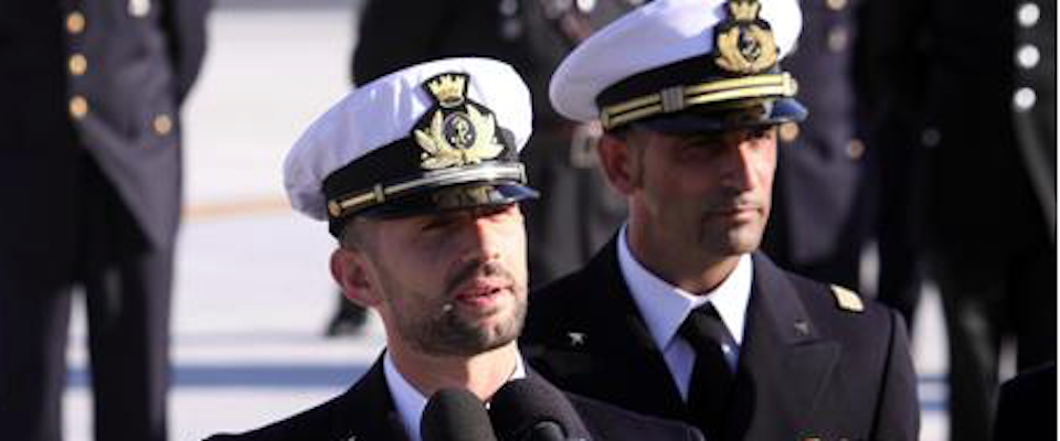 I due marò italiani Girone e Latorre
