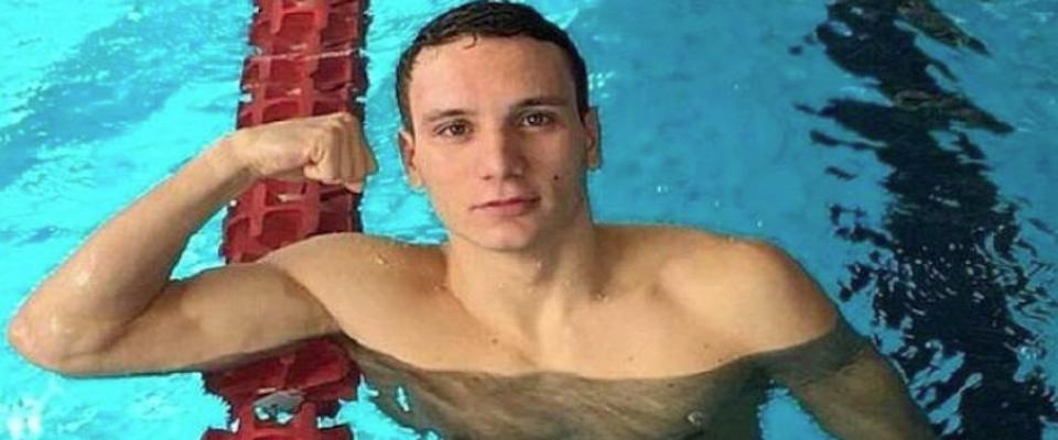 Manuel Bortuzzo torna in piscina