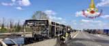 SENEGALESE - Il bus, con a bordo 51 bambini della scuola media Vailati di Crema e gli insegnanti sequestrato e incendiato dall'autista senegalese Ousseynou Sy arrestato per strage