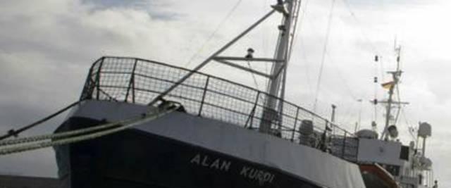 La nave Alan Kurdi della Ong tedesca Sea Eye