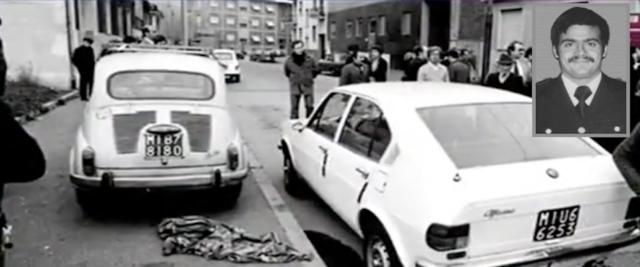 L'omicidio dell'agente di polizia Andrea Campagna, ammazzato da Cesare Battisti con 5 colpi alle spalle il 19 aprile 1979