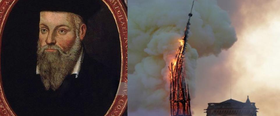 """""""Nostradamus aveva previsto il rogo di Notre Dame. Ora tocca all ..."""
