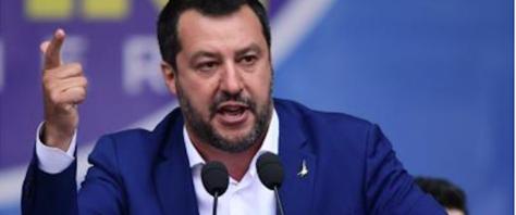 Il vicepremier, Matteo Salvini