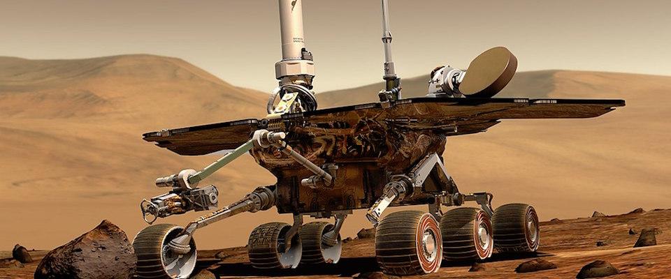 Il Rover della Nasa su Marte