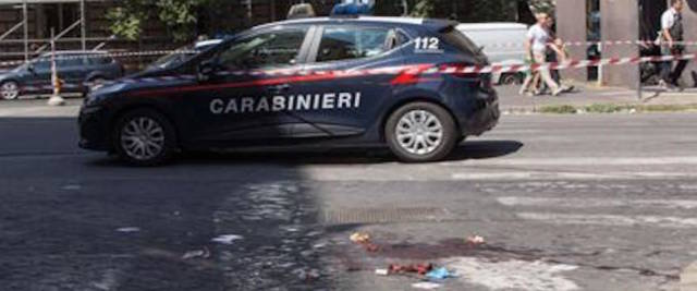 Il luogo dove è stato ucciso il vicebrigadiere dei carabinieri, Mario Cerciello Rega