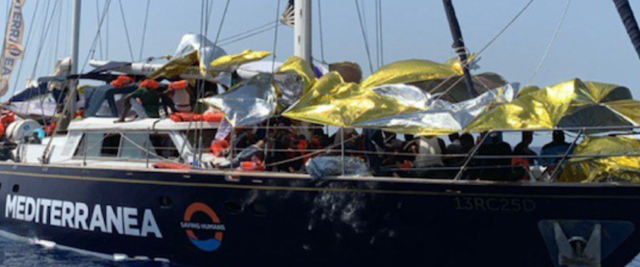 La nave Alex di Mediterranea