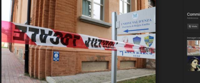 """La sede dei Comuni della Val D'Elsa al centro dlelo scandalo degli affidi pilotati scoperto dall'inchiesta """"Angeli e Demoni"""""""