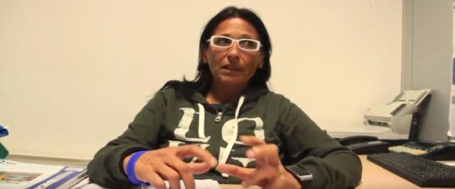 Federica Anginolfi, omosessuale, responsabile del servizio sociale integrato dell'Unione di Comuni della Val d'Enza