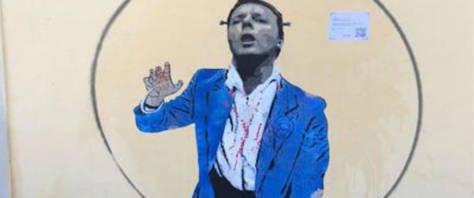 Murale su Renzi