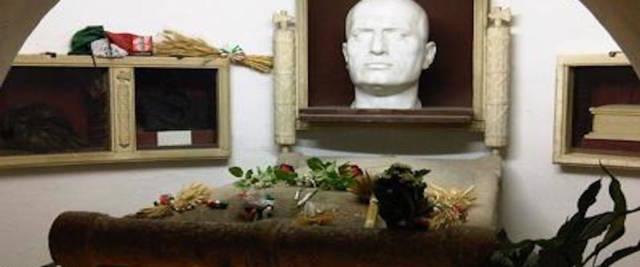 La cripta di Mussolini a Predappio