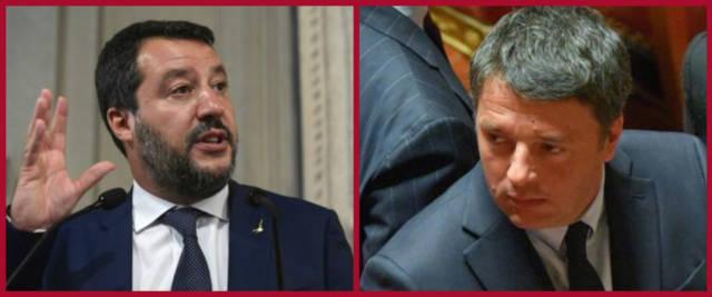 duello Salvini-Renzi
