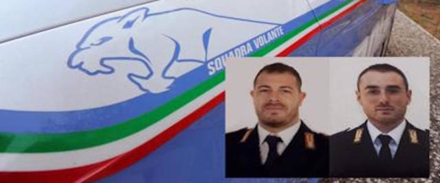 agenti di polizia uccisi a Trieste