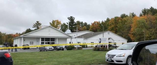 sparatoria chiesa