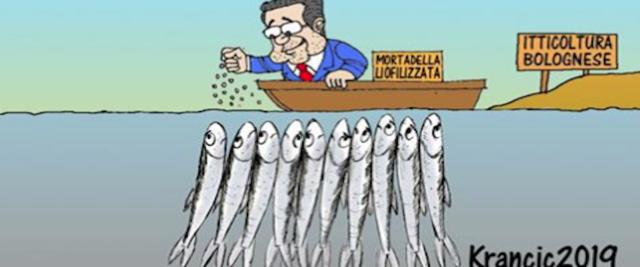 Meloni su Prodi e sardine monti