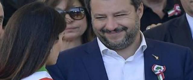 Salvini-Raggi Adnkronos