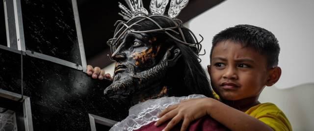 Gesù di colore foto Ansa