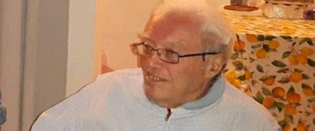 il virologo Giuseppe Visco foto mandata dalla collaboratrice