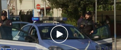 polizia, frame da video caricato da Zaia sulla sua pagina Facebook