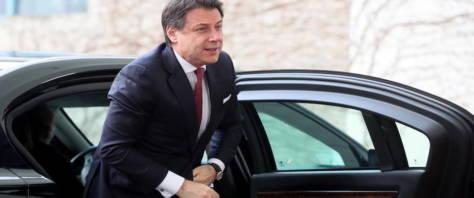 Conte non va a Davos foto Ansa