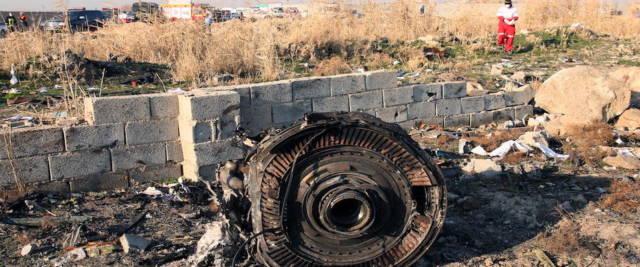 aereo ucraino abbattuto in Iran foto Ansa