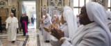 Gaffe del Papa con la suora africana