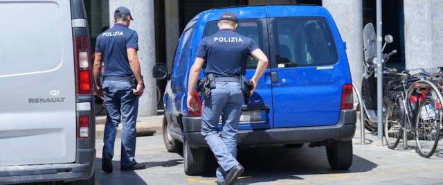 polizia foto Ansa