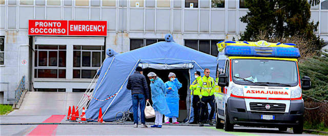 Coronavirus: ospedale di Cremona