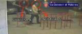 FRAGALA' , Un immagine tratta dal video dei carabinieri sull'omicidio dell'avvocato Enzo Fragalà