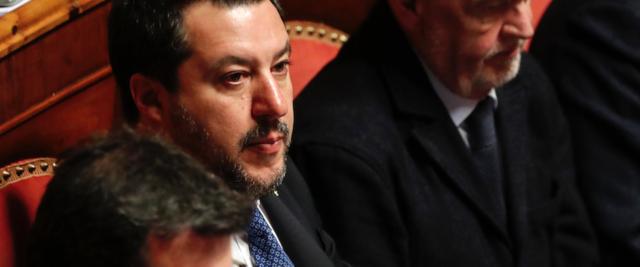 Gregoretti, discussione in Senato