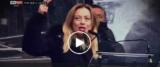 Schermata 2020-02-03 alle 10.39.03 Giorgia Meloni a Sky Tg24 frame da video dalla pagina Facebook della Meloni