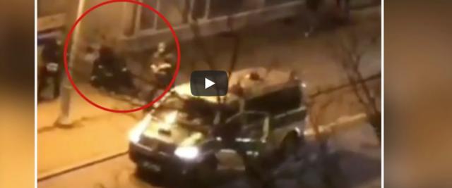 strage di Hanau frame da video Youtube