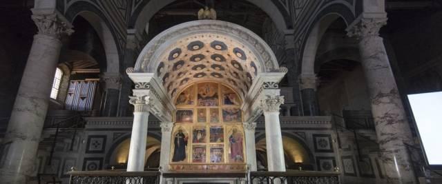 Basilica di San Miniato al Monte foto Ansa
