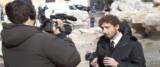 Filippo Roma aggredito e cacciato dalla manifestazione grillina foto Ansa