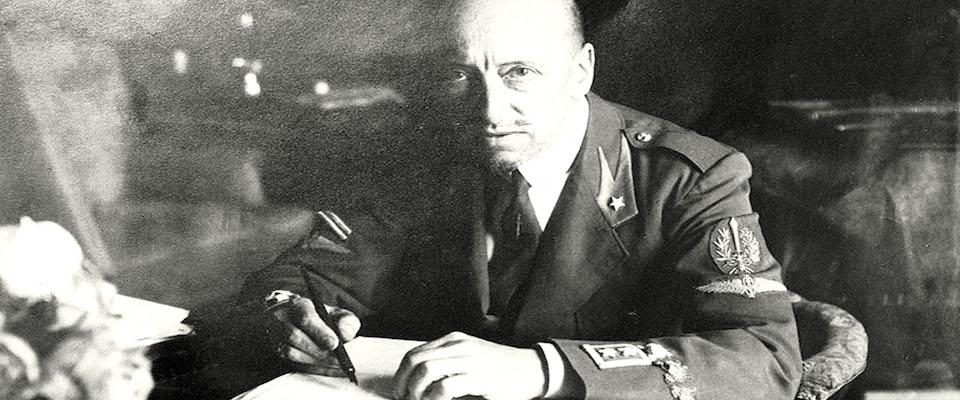 Gabriele D'Annunzio foto Ansa