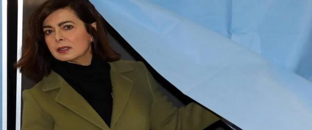 Laura Boldrini in una foto Ansa