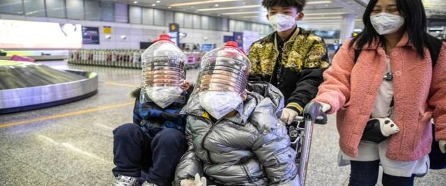 Coronavirus dalla Cina foto Ansa