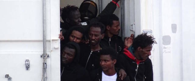 migranti foto Ansa